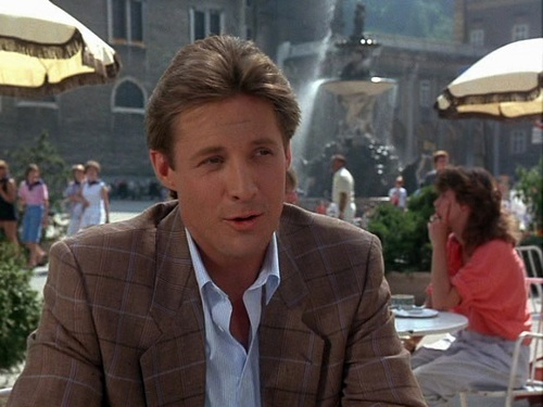 Scarecrow and Mrs. King fondo de pantalla containing a business suit and a calle called Bruce Boxleitner as Lee Stetson
