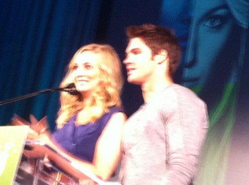 Candice and Steven at CWupfront [Chicago]!