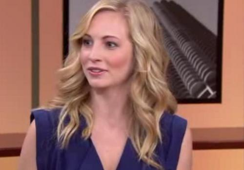 Candice on WGN news [Chicago]!