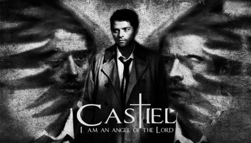 Castiel Обои