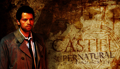 Castiel wallpaper with a business suit entitled Castiel wallpaper