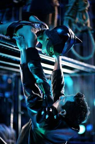 Catwoman and Tom