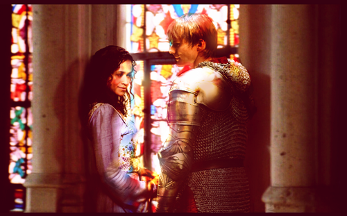 Caught In the Light - Arthur and Guinevere by Felix Aeternus