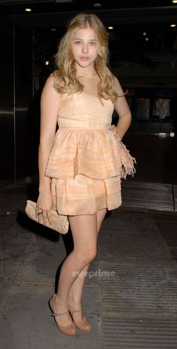 Chloe Moretz attends Cleopatra: Northern Ballet Press Night in London