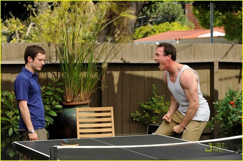 Chris Klein on 'Wilfred' - JustJared.com Exclusive!
