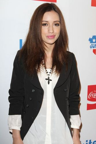 Christian Serratos Celebrating Coca Cola's 125th Celebration(HQ)