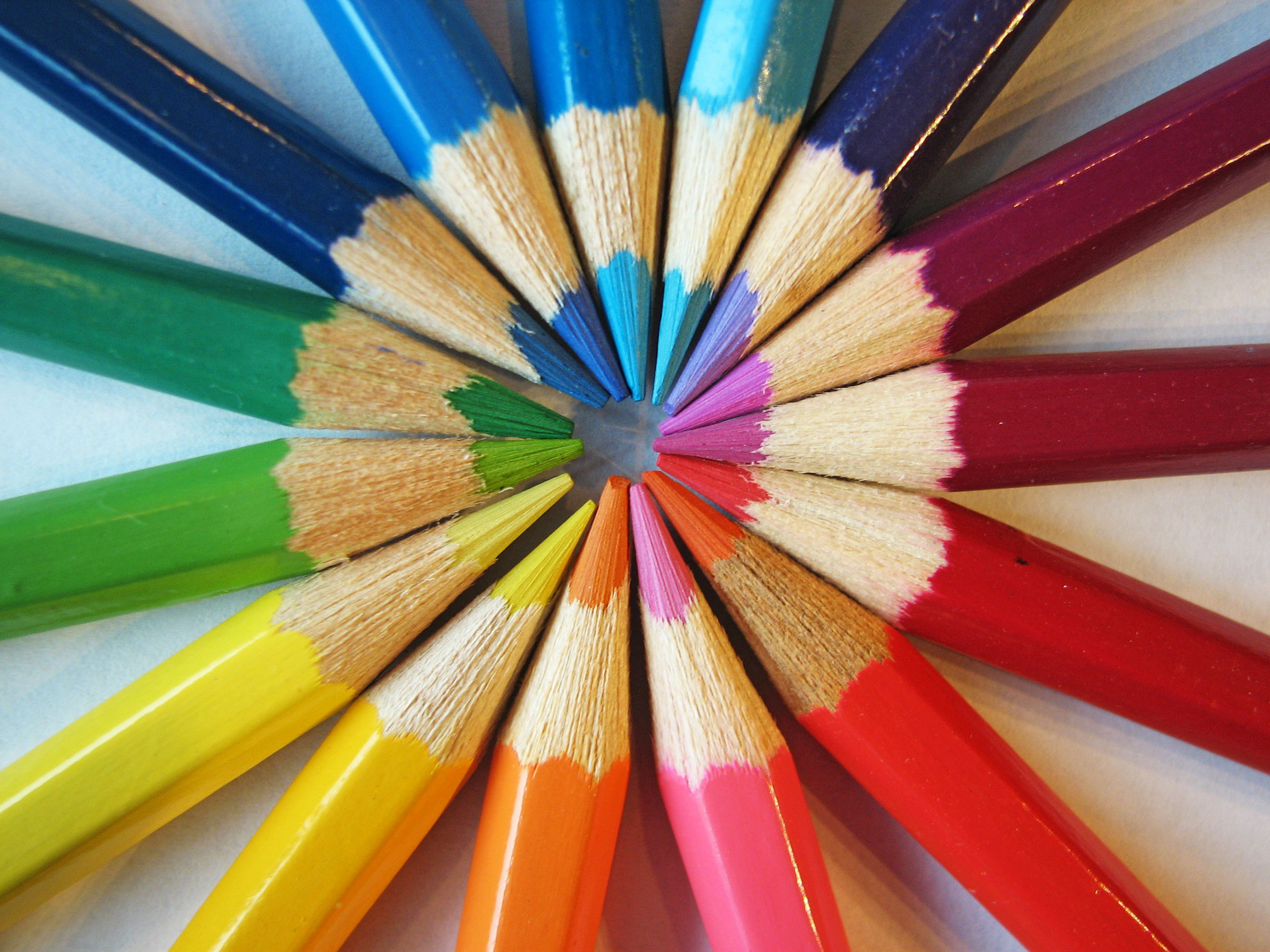 pencils images colored pencils hd wallpaper and background photos