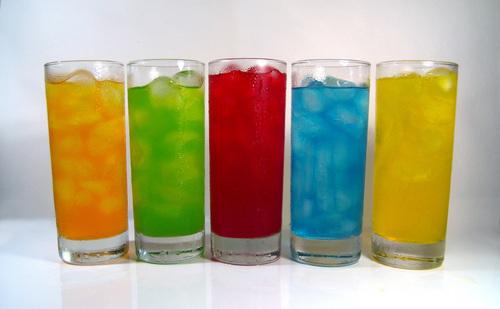 Colourful glasses
