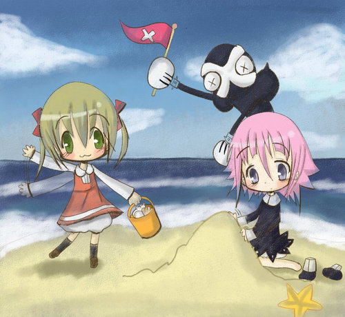 Soul Eater Fans wallpaper containing anime entitled Crona~  <3