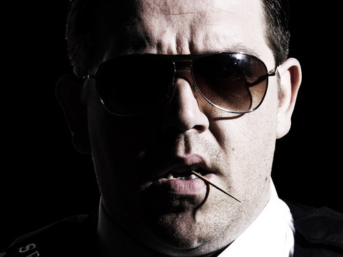 Hot Fuzz wallpaper with sunglasses entitled Danny Butterman