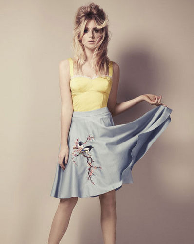 Diana Vickers wallpaper possibly with a cocktail dress entitled Dee V Fashion Range