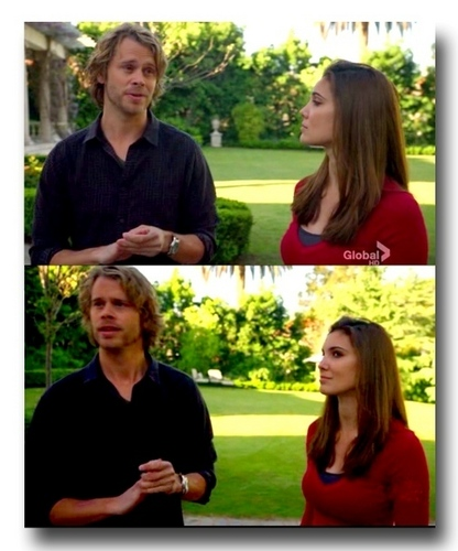 NCIS: Los Angeles fond d'écran with a portrait called Deeks and Kensi- FAME