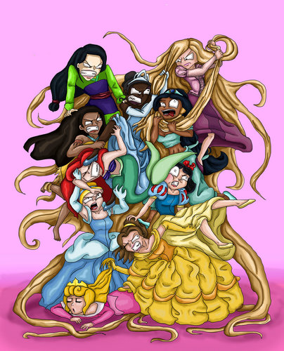 Disney princess battle royale =P