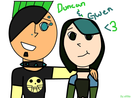 Duncan and Gwen<3