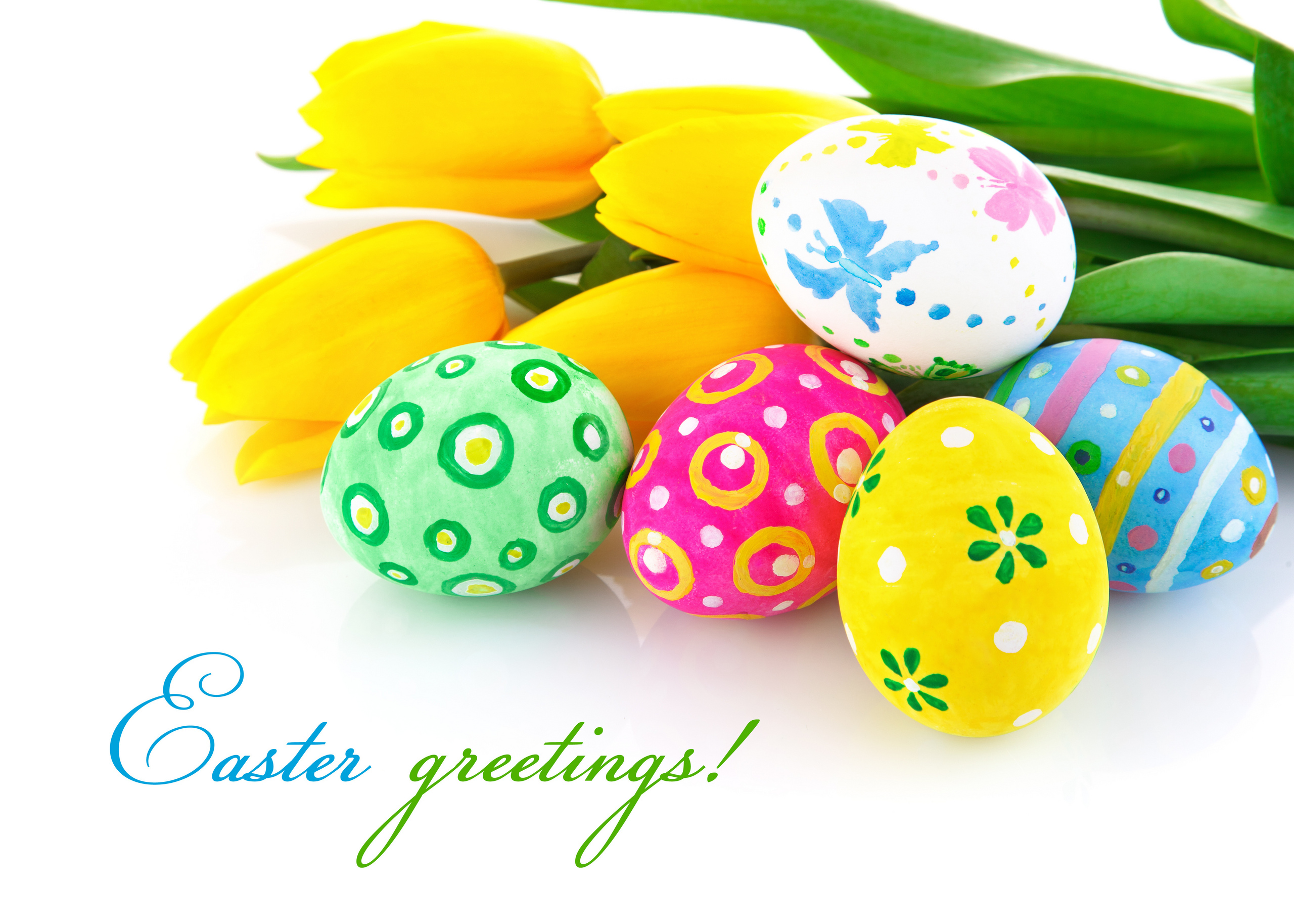 Easter Happy Greeting Card
