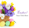 Easter greeting card - easter photo