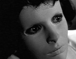 Horror فلمیں پیپر وال entitled Eyes Without a Face