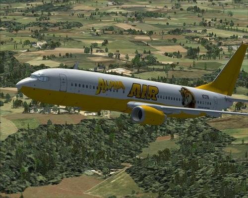 FSX B737-800 AlphaAir + Download link