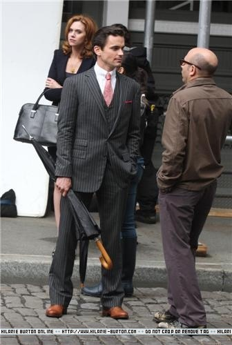 Filming on Location in Soho - May 17, 2011