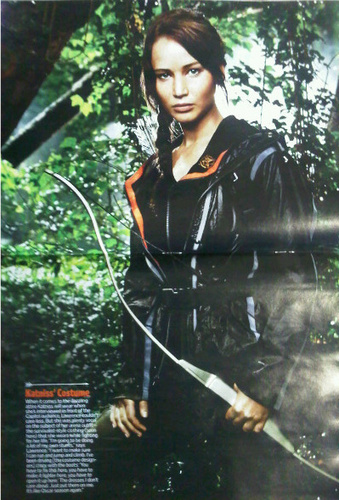 First look at Jennifer Lawrence as Katniss