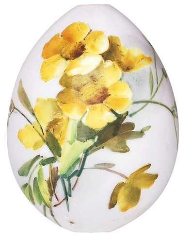 Floral touch Easter Egg carving