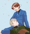 Flowers - hetalia-gerita fan art