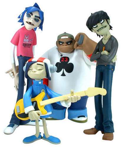 gorillaz ACTION FIGURES