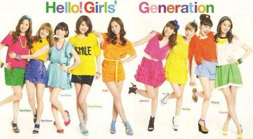 Girls' Generation SPUR Pink