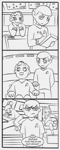 Good God! - spirk Fan Art