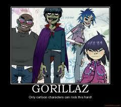 Gorillaz Motivational Poster