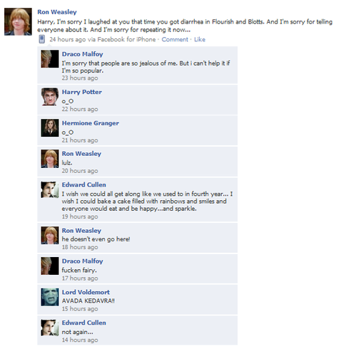 HP fb convos