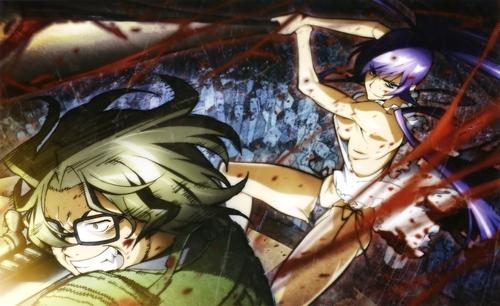 Hirano and Saeko