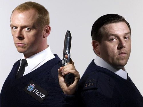 Hot Fuzz wallpaper with a business suit called Hot Fuzz