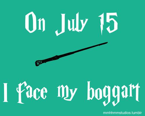 I Face My Boggart