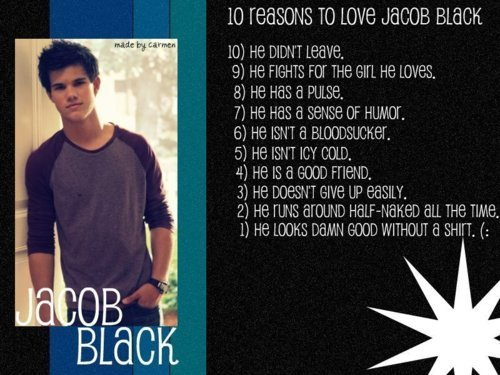 Jacob Black<3