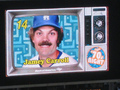 Jamey Carroll on 70's Night - los-angeles-dodgers photo