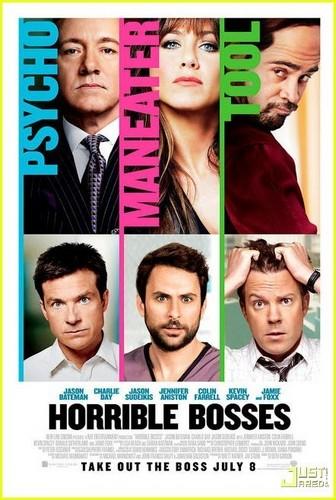 Jennifer Aniston: 'Horrible Bosses' Posters!