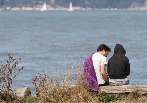 Jericho strand in Vancouver - September 10, 2010 -