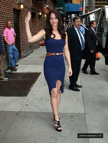 Leaving David Letterman Zeigen (May 19, 2011)