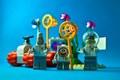 Lego Sponge Art
