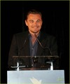 Leonardo DiCaprio: Cinema for Peace in Cannes!