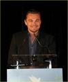 Leonardo DiCaprio: Cinema for Peace in Cannes!