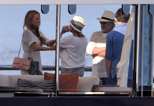 Leonardo DiCaprio and Steven Spielberg on a Yacht
