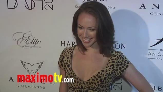 Lindsey McKeon at The Bash 2011 Charity Event oleh LA Teens