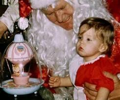 Lisa and Santa