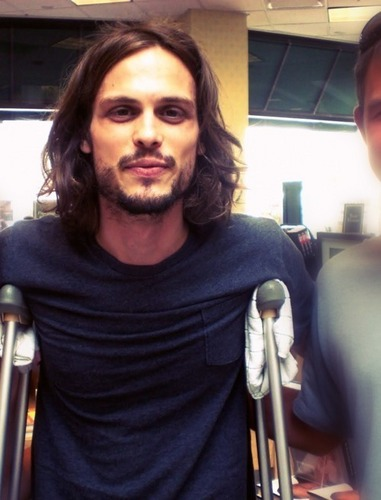 Dr. Spencer Reid Hintergrund entitled Matthew Gray Gubler