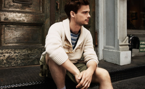 Matthew in Mr. Porter Magazine