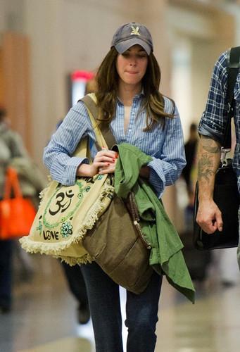 Megan Fox & Brian Austin Green: LAX Liftoff