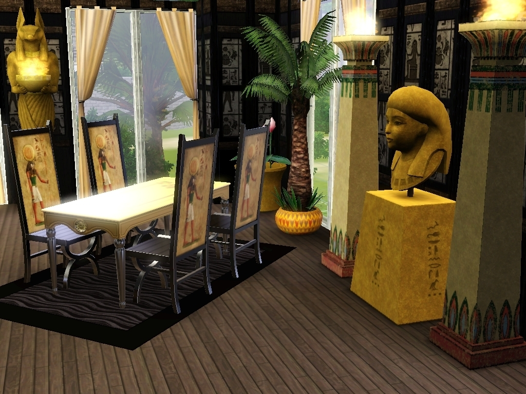 Ancient Egyptian Interior Decor : My_Interior_Design_Egypt - The Sims 3 Photo (22199457) - Fanpop