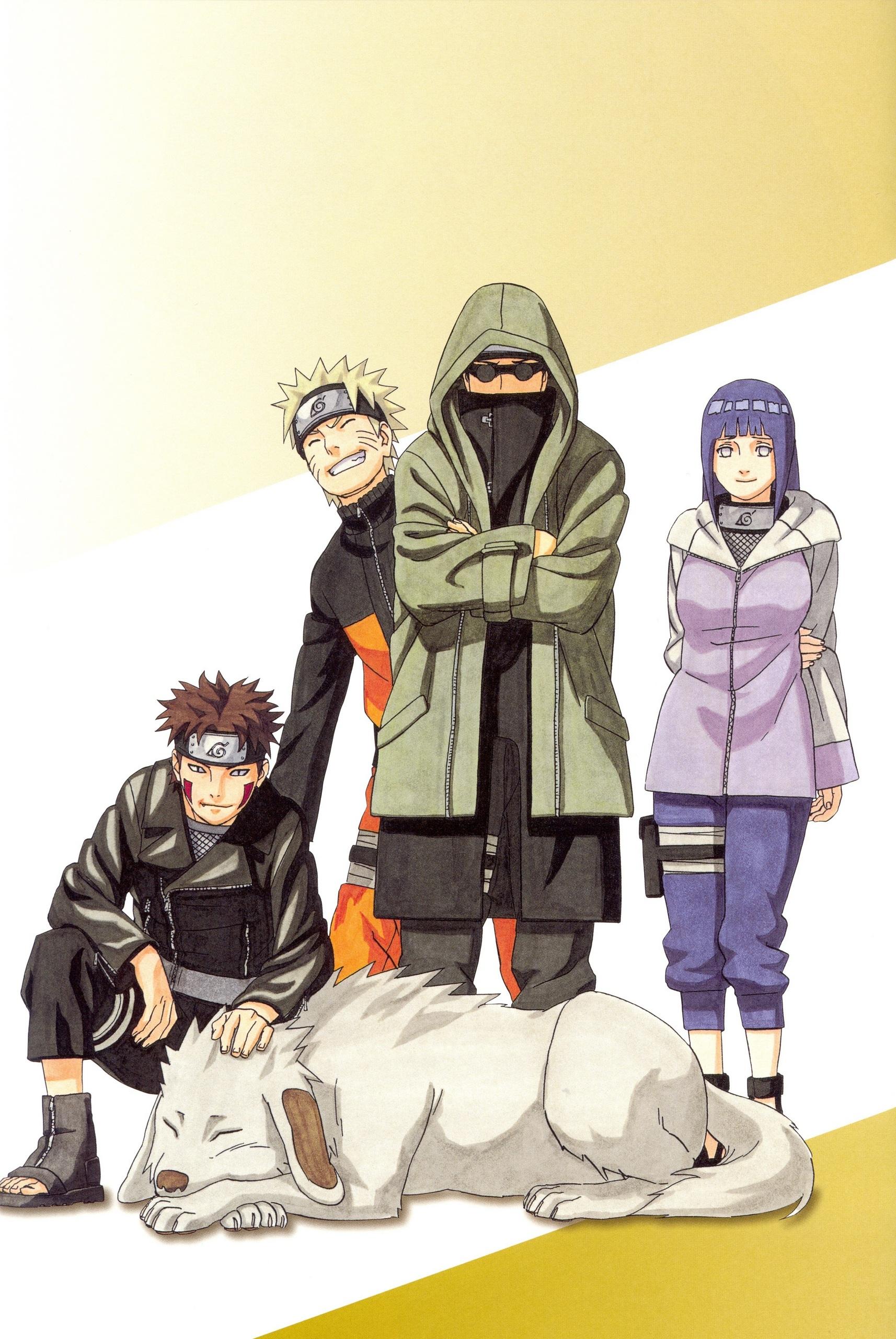 Naruto Shippuuden Naruto with Team 8Naruto Team 8
